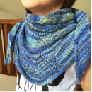 Blue Sea Bandana Knitting Kit