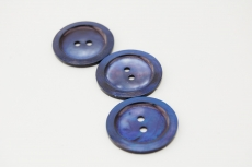 Blue Mother of Pearl Button 22mm