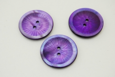 Purple Mother of Pearl Button 22mm