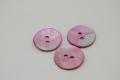 Light Pink Mother of Pearl Button 20mm