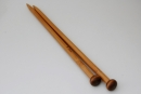 Straight Bamboo Knitting Needles 25cm