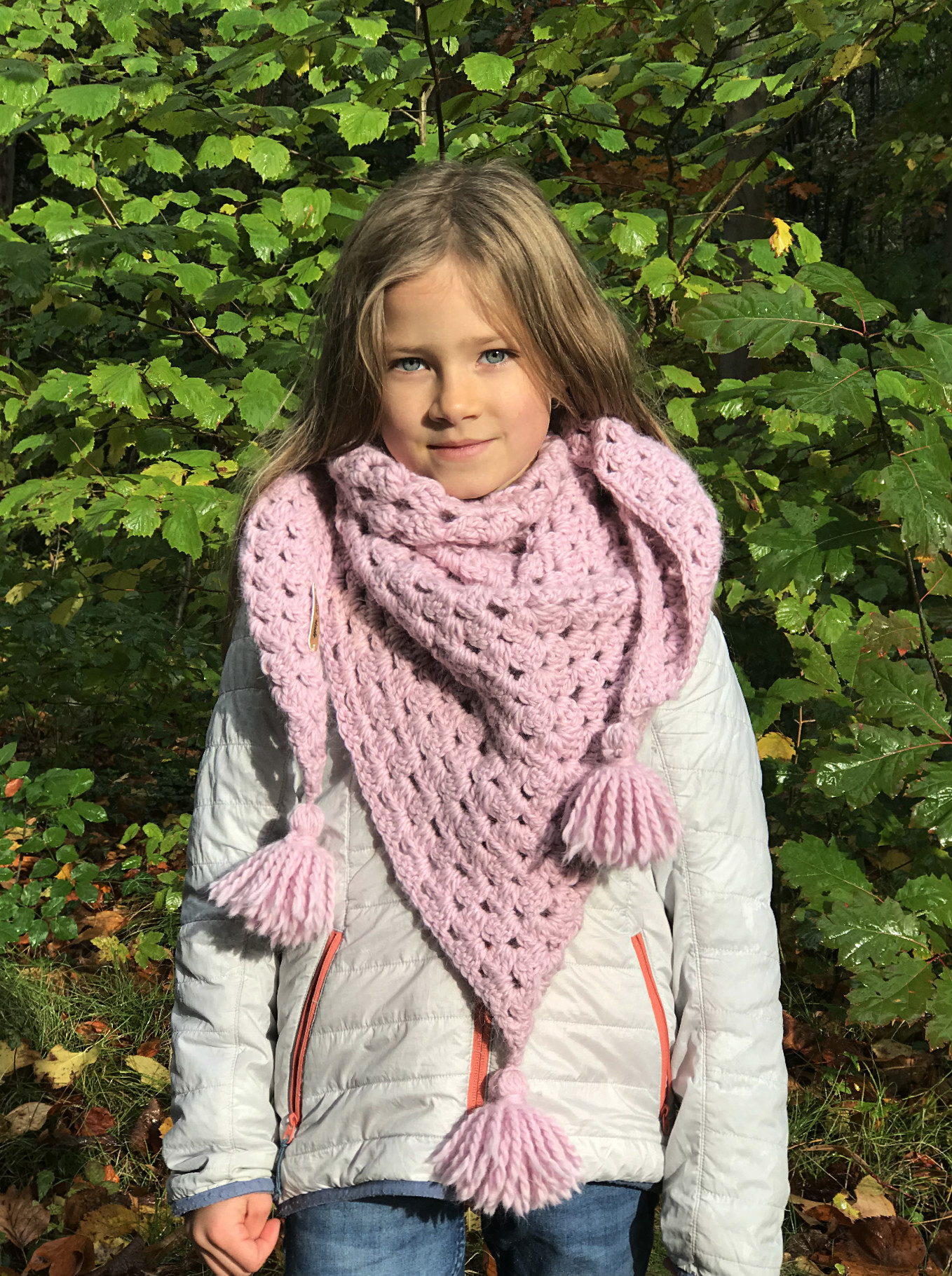 Andes Granny Scarf Free Crochet Pattern